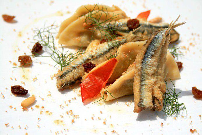 Cena a tema ristorante di casartusi la cucina siciliana